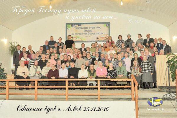 Witwentreffen in Lviv (Ukraine)