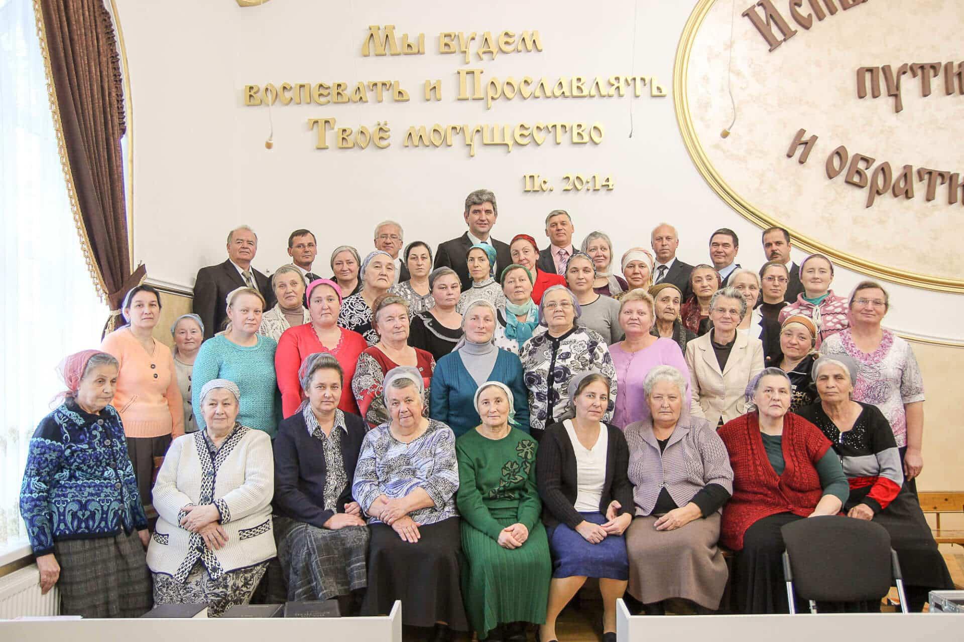 Witwentreffen in Wladikavkaz (Russland)