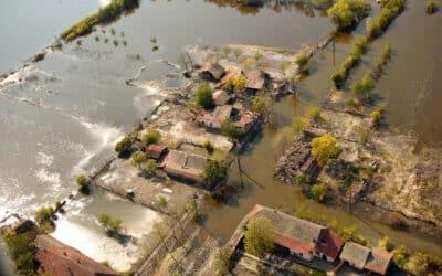 Überschwemmung in Rumänien