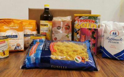 Lebensmittelpaket